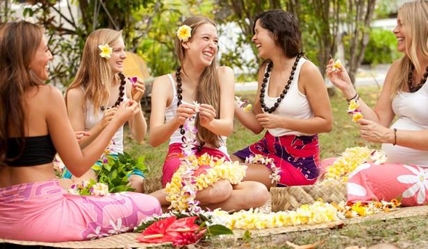 Lei Making, Hula Lessons Hawaii,