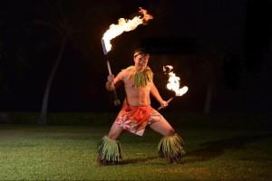 Fire Knife Dancer