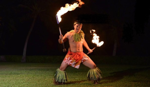 Fire Knife Dancer Hawaii, Hire Fire Knife Dancer