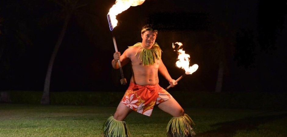 Fire Knife Dancer