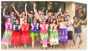 Mahalo, Hula Hula Entertainment!!! - Hamada/Lee wedding party 4/12/14