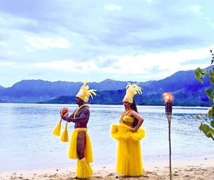 Tahitian dance, Hula dance, Hawaiian Luau